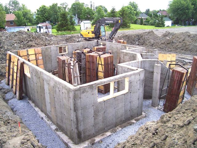 fondation cl en main jean pierre roy excavation inc. Black Bedroom Furniture Sets. Home Design Ideas